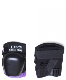 187 Killer 187 Killer Protection Derby Pads Pro black/purple
