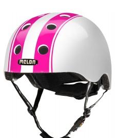 Melon Melon Helmet Double white/pink