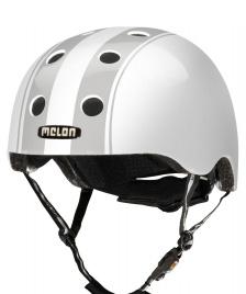 Melon Melon Helmet Decent Double white/grey