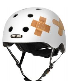 Melon Melon Helmet Plastered white/white