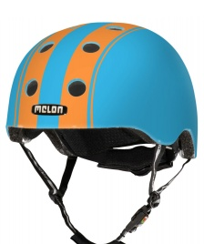 Melon Melon Helmet Double blue/orange