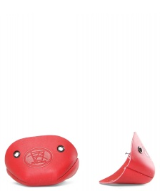 Riedell Riedell Accessories Leather Toe Cap red