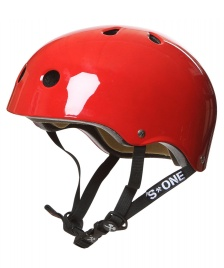 S1 S1 Helmet Lifer red gloss