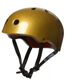 S1 S1 Helmet Lifer gold glitter
