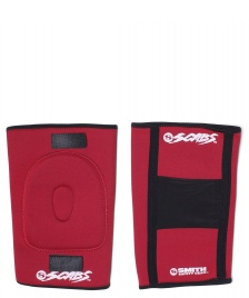 Smith Smith Knee Gasket Pad red