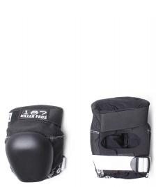 187 Killer 187 Killer Protection Derby Knee Pads Pro black/white