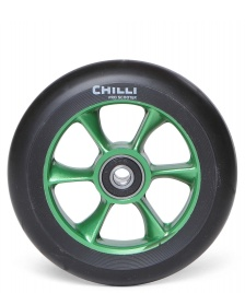 Chilli Pro Scooter Chilli Wheel Turbo Core 110er green/black