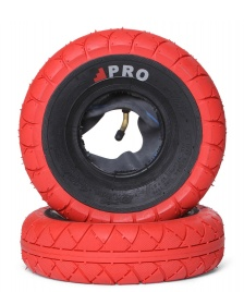 Rocker Rocker Tyres Street Pro Pair red/black walls