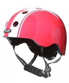 Melon Melon Helmet Double red/white