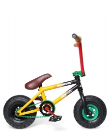 Rocker Rocker Mini BMX Irok+ Lumberjack yellow/black