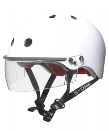 S1 S1 Helmet S1 Lifer Visor white gloss