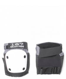 187 Killer 187 Killer Protection Knee Pads Fly black/white
