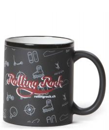 Rolling Rock Rolling Rock Tasse Logo black