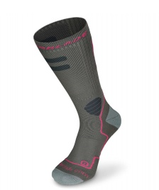 Rollerblade Rollerblade W Socks High Performance grey/pink