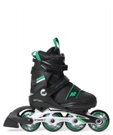 K2 K2 Kids SK8 Hero Boa Alu black/green