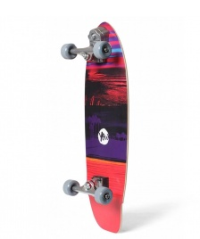 YOW Yow Street-Surfing Cruiser Raglan red/purple
