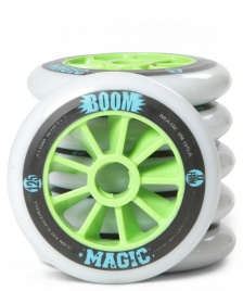 Atom Atom Wheels BOOM Magic X Firm 125er white/green