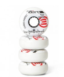 Eulogy Eulogy Wheels Chris Haffey Plane Signature 58er white/black/red