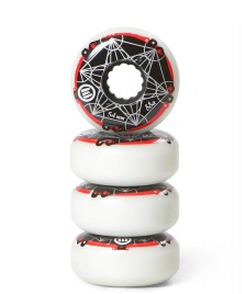 Eulogy Eulogy Wheels Metatron Cube Logo 54er white/black/red