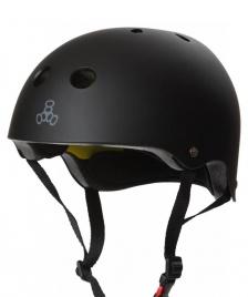 Triple 8 Triple 8 Helmet Certified Mips EPS Liner black rubber