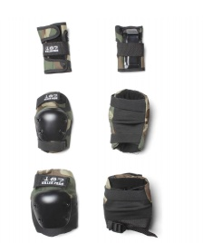 187 Killer 187 Killer Kids Protection Pads Pack black camo