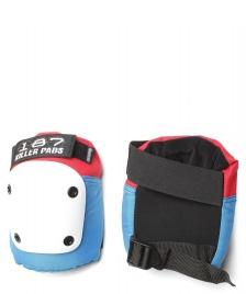 187 Killer 187 Killer Protection Knee Pads Fly red/white/blue