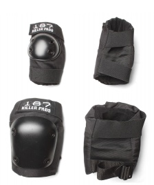 187 Killer 187 Killer Pads Combo Pack black