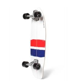 Carver Carver Surfskate USA Thruster C7 white/red/blue