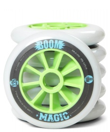 Atom Atom Wheels BOOM Magic XX Firm 125er white/green