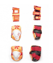 Powerslide Powerslide Protection Kids Tri-Pack orange/red