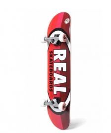 Real Real Complete Oval Stripes red