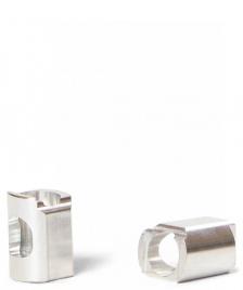 Apex Apex Box Cut Deck Ends silver