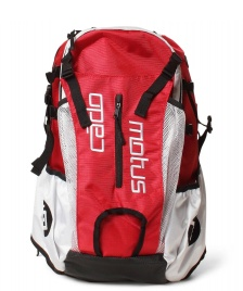 Cadomotus Cadomotus Backpack Airflow red/white