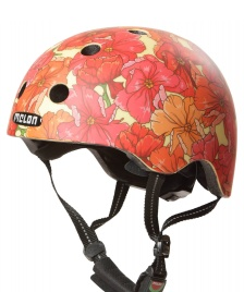 Melon Melon Helmet Bohemain Flower red/pink