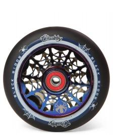 Chubby Chubby Wheel Black Widow 110er blue/black