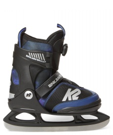 K2 K2 Ice Rink Raven Boa black/blue