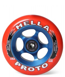 Proto Proto Wheel X Hella Grip 110er red/blue