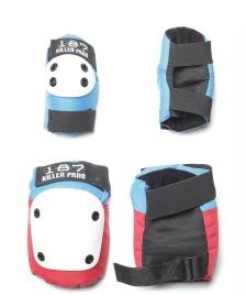 187 Killer 187 Killer Pads Combo Pack red/white/blue
