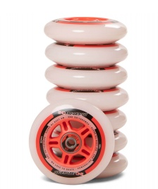 Powerslide Powerslide Wheels One 90er 8-Pack inkl. Kugellager white/red