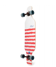 Long Island Long Island Longboard Geo Flex 2 white/red