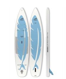 Indiana SUP Indiana SUP 11`6 Feather Inflatable white/aqua