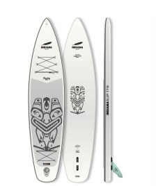 Indiana SUP Indiana SUP 11`6 Touring Carbon Paddle Pack white/grey