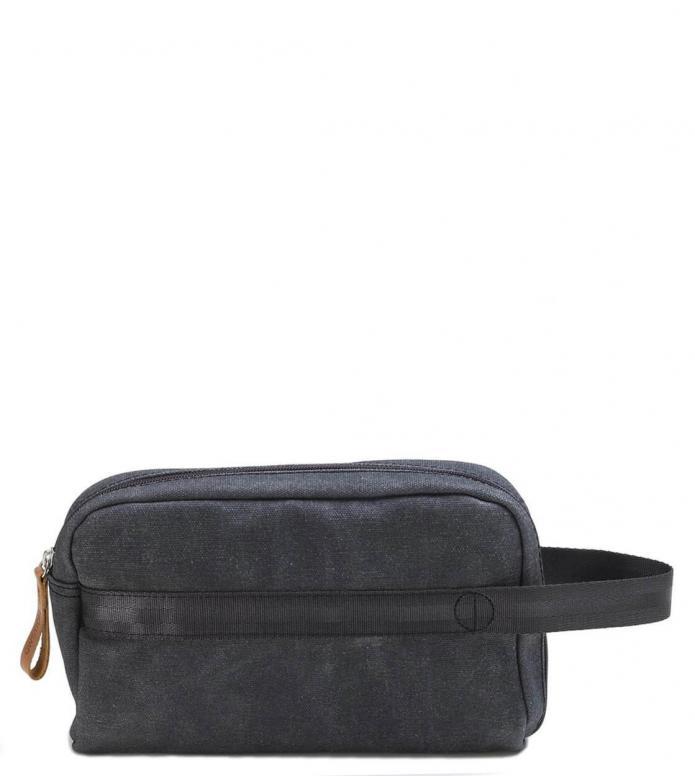 Qwstion Qwstion Washbag Travel Kit washed black