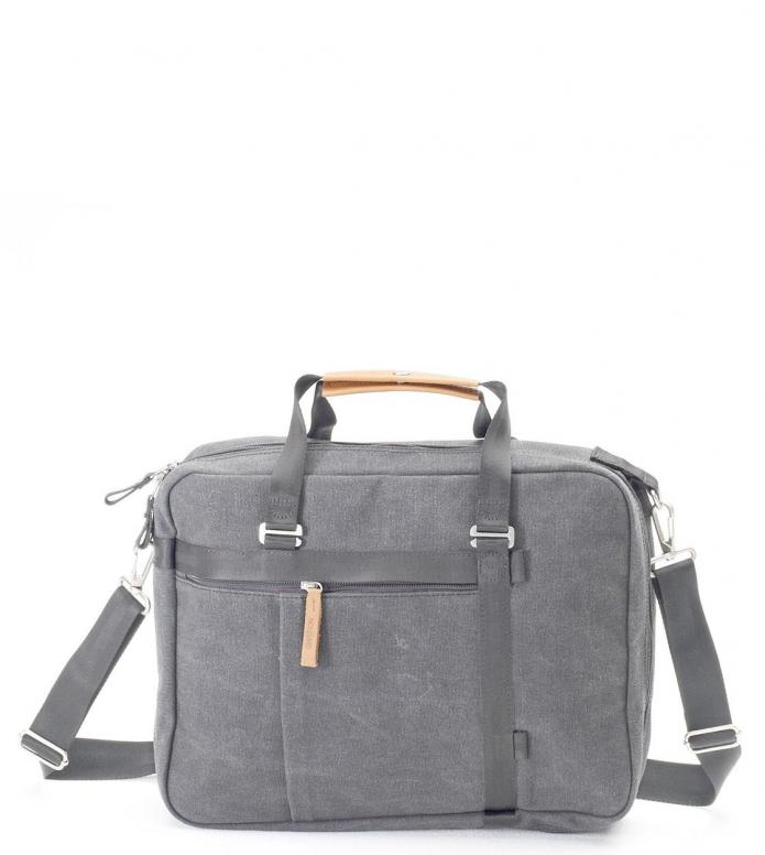 Qwstion Bag Office Tote washed grey 13.5L