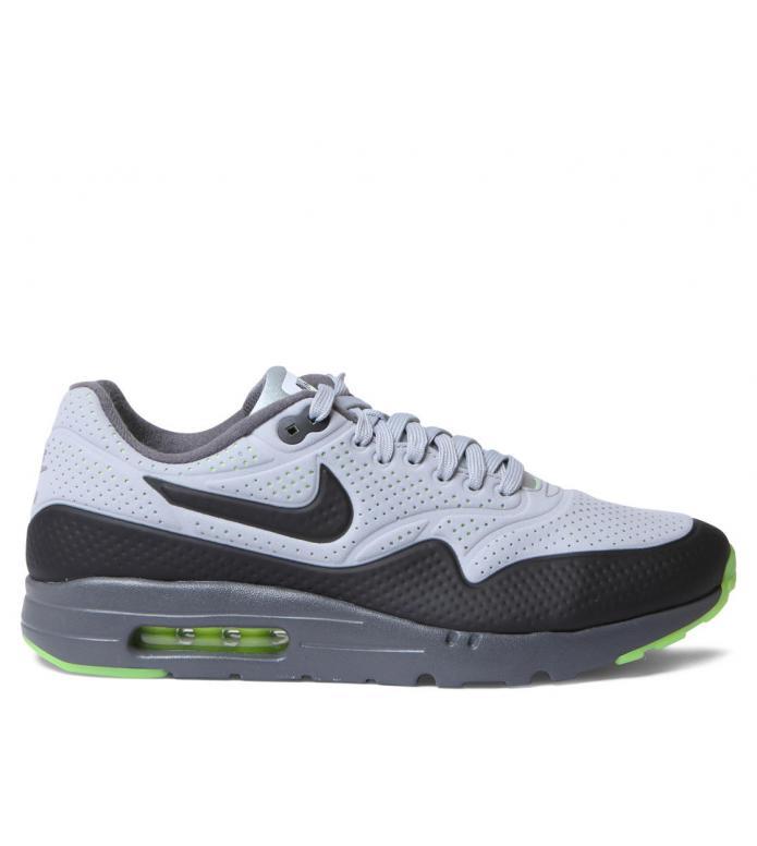 Nike Nike Shoes Air Max 1 Ultra Moir grey wlfgry-black