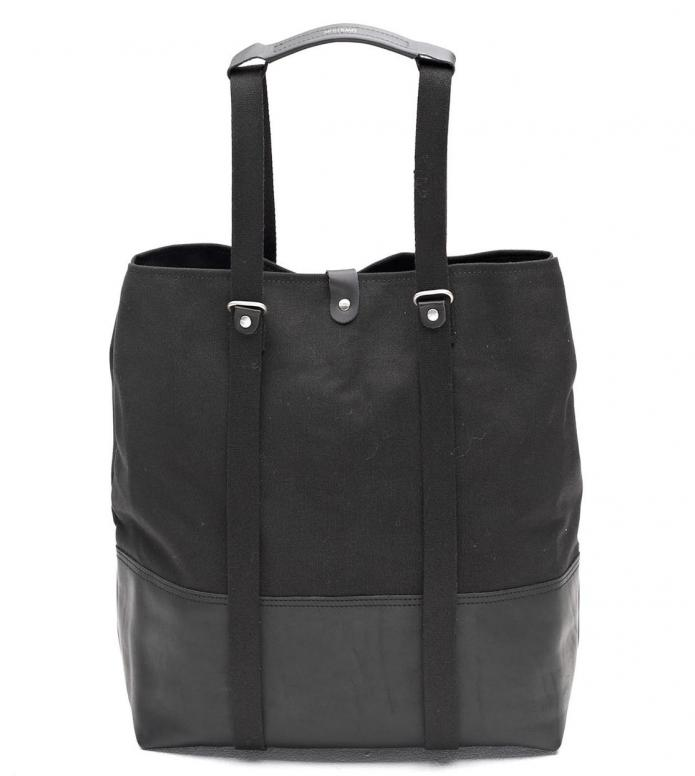 Qwstion Qwstion Bag Shopper black leather canvas