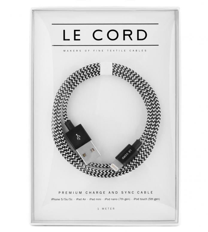 Le Cord Le Cord Charge & Sync Cable black eero