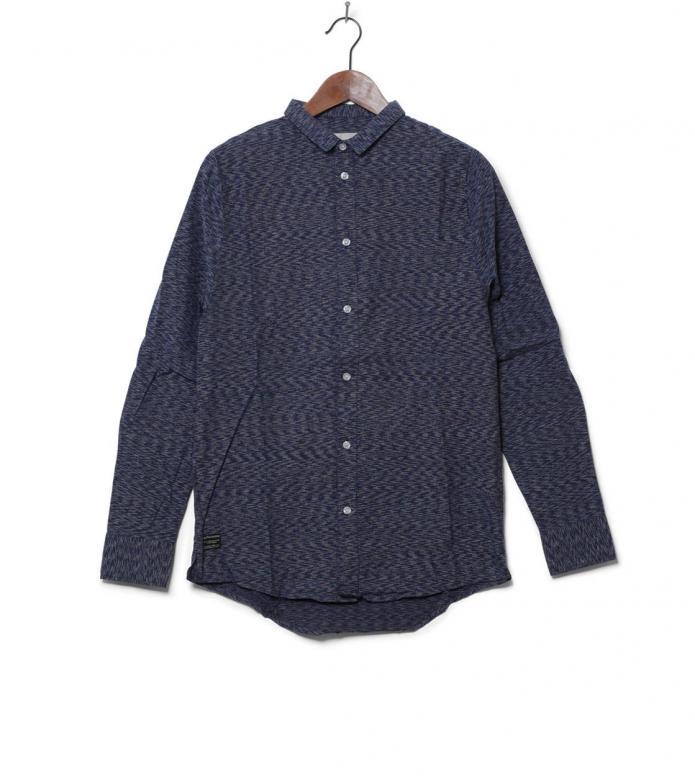 Revolution Shirt 3536 blue navy M