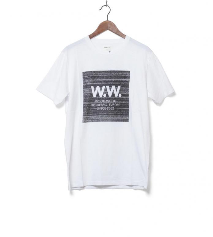 Wood Wood T-Shirt Square white L
