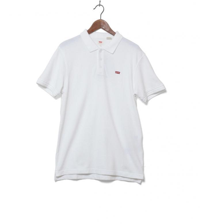 Levis Polo Housemark white bright S